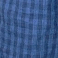 チェック(4938メンズ裾ラウンドシャツ)